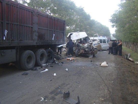 这是8月28日在河北省尚义县拍摄的事故现场。新华社发