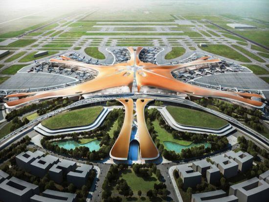 北京新机场设计方案公布