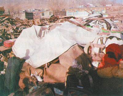 青海规模最大经文抄本地震中遭毁坏守护者身亡