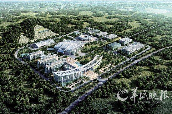 中国散裂中子源项目效果图 资料图片