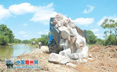 2018江西赣州水灾_陡水湖风景区旅游