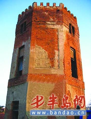 青岛一座百年水塔被拆系区级文物保护单位(图)