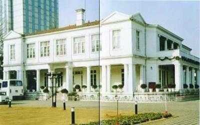 手绘南京民国公使馆地图
