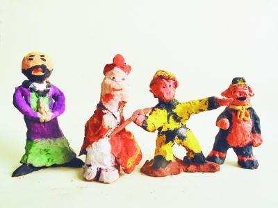 南京晓庄小学v小学特色校服小学成学院(图)日本彩绘泥塑图片