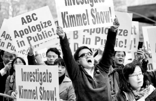 美国华裔媒体抗议abc辱华