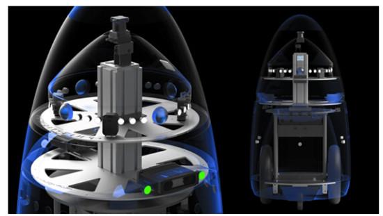 AGV机器人联合运行移动智能装备成现实