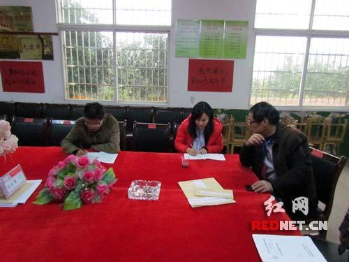 沅江市接受国家教育部义务教育质量监测