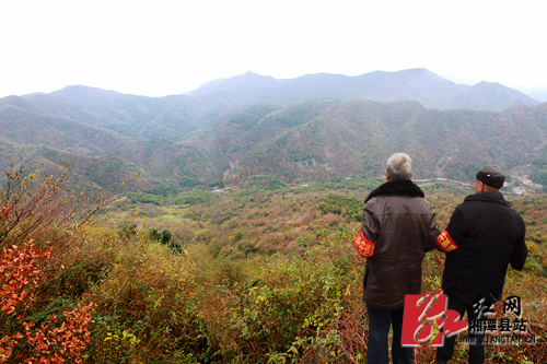 隐山自然保护区的生态公益林护林员.