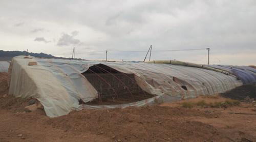 新疆局地蒙受洪涝风雹灾祸已致2500余人受灾
