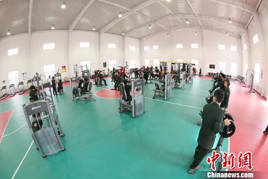 多功能体育综合训练馆亮相解放军朱日和训练基地