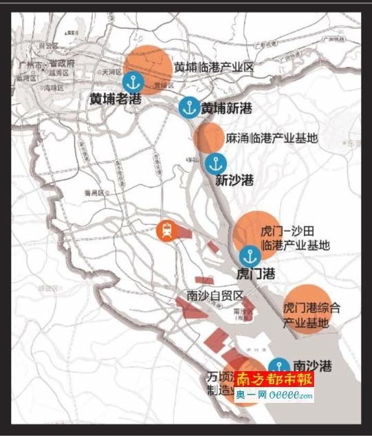 西北联系中东,欧洲,利用广汕铁路,实现广州与东南沿海及华东地区的