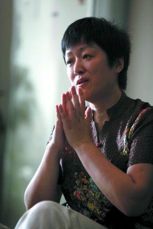 6月11日,马悦凌说,她追求的是如何发现人类健康的康庄大道。本报记者 郭铁流 摄