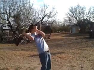 枪械武器失误悲催作死射击视频集锦
