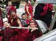 藏独分子可能制造新事端武警重回拉萨街头值勤