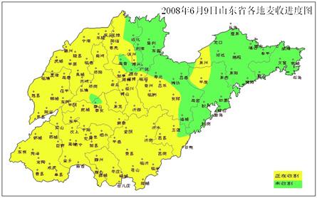 山东省麦收天气趋势及建议