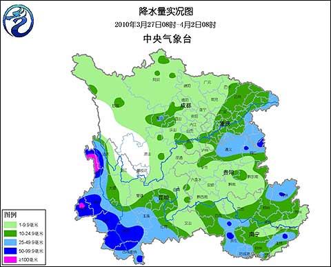 旱区近期降雨 未来十天降水稀少