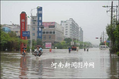 河南持续强降水 未来三天局地仍有暴雨需防范