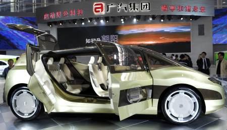 多款新能源车亮相广州车展