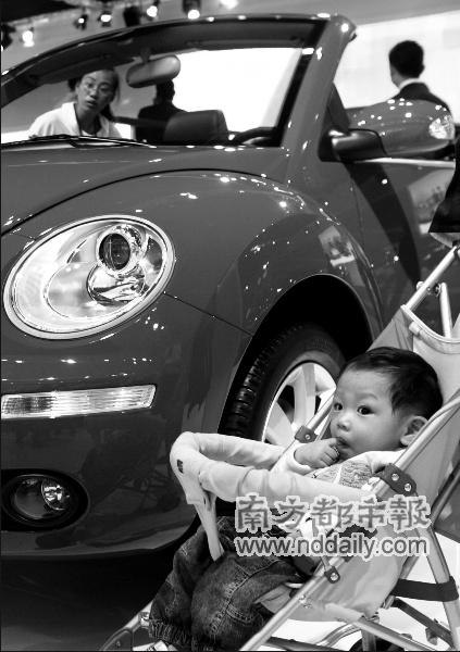 张广宁试驾广汽概念车