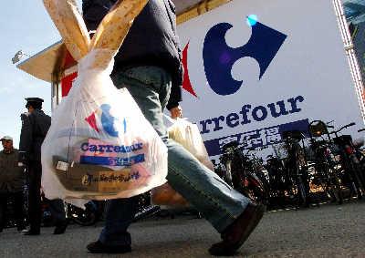 塑料购物袋6月1日起收费(图)