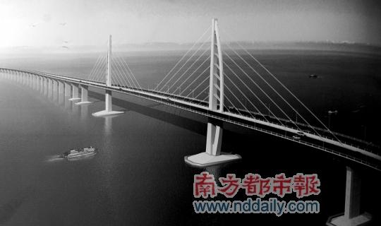 世界最长跨海大桥港珠澳大桥动工 总投资逾700亿,最快2015年建成,