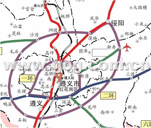 一环二环两条高速公路今年开建,绥阳桐梓湄潭及遵义县近在咫尺