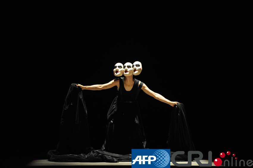 委内瑞拉举办世界人体艺术展(高清组图)