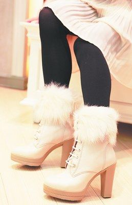 """毛绒绒""""鞋教徒""""暖洋洋过寒冬"""