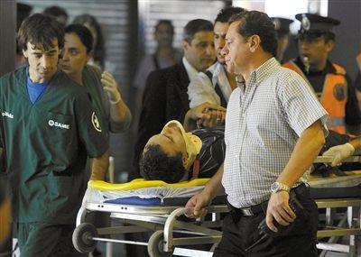 阿根廷城铁出轨近600人死伤