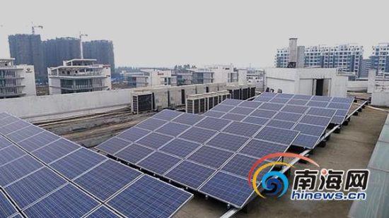 屋顶安装容量为2mw的光伏发电系统,全部采用用户侧并网设计,太阳能图片
