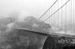 """""""世界第一天桥""""矮寨大桥开通"""