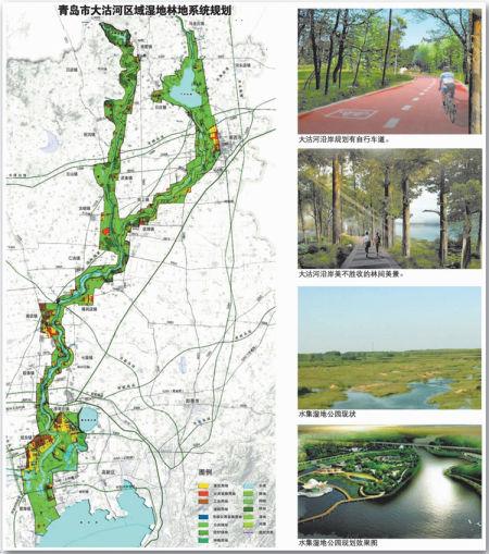 """大沽河小沽河附近将添8公园湿地成""""诗地"""""""