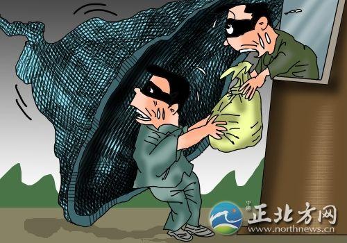 赤峰女巫打掉一盗窃入室漫画社警方团伙秘图片