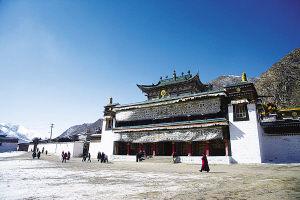 拉卜楞寺300年来首次大修预计历时7年左右完成