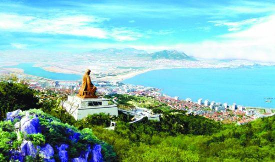 威海赤山风景名胜区,位于山东半岛最东端的中国首届魅力城市——荣成