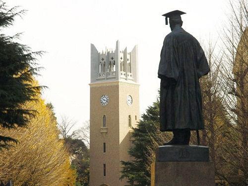 早稻田大学招收和派遣留学生人数均列日本第一
