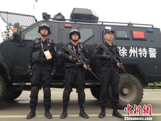 江苏省运会交通演练全城600余车辆齐奔场馆无堵