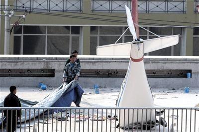 辽宁1小型飞机坠落1死1伤
