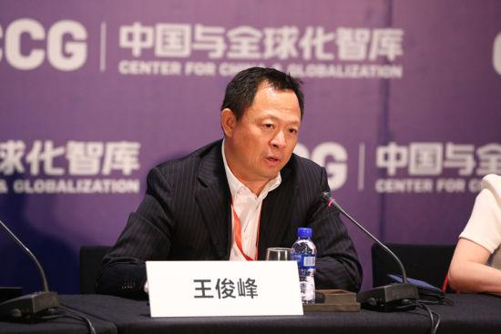 金杜律师事务所管委会主席王俊峰