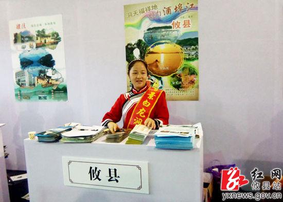 攸县酒埠江白龙洞景区参加第三届省旅游博览会(图)