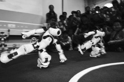 幼儿园武术机器人手工制作
