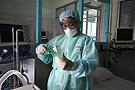 印尼医院里的隔离间