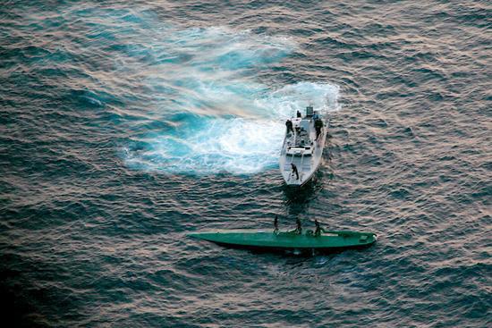 墨西哥海军截获6吨毒品