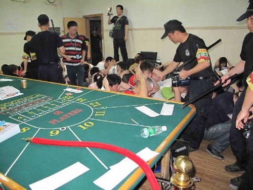 佛山89人模仿澳门赌场排场聚赌被刑拘(图)