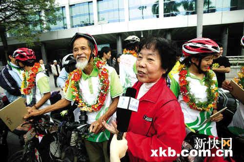 7旬老人骑车在东南亚六国宣传亚运