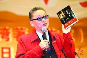 李敖昨天在暨大演讲。记者骆昌威摄