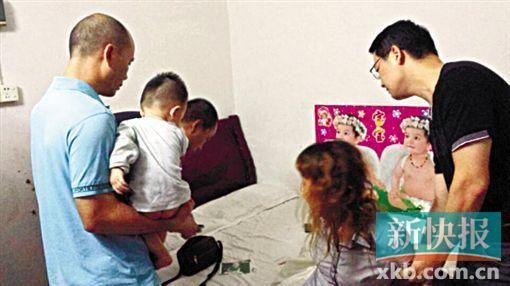 广州市海珠警方仅用了8小时,就胜利挽救被拐的男婴。