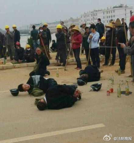 昆明晋宁征地冲突8人死亡 4人被烧死 资料图