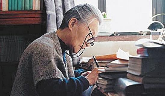 杨绛今日凌晨去世 享年105岁