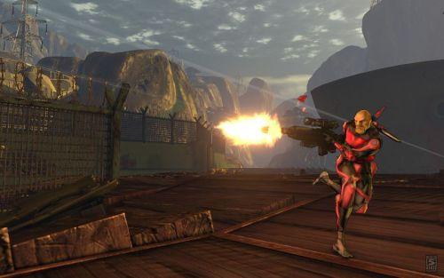 九城《FireFall》PAX游戏展截图